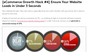 eCommerce Growth hacks